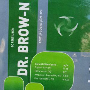 DR.BROWN NE İŞE YARAR... 1=ürün içersinde bulunan nitrat,amonyum ve ure azotu combinasyonu hayvansal ve bitkisel aminoasitlerle desteklenmiş olup,buharlaşma ve yıkanma olayını minimize etmektedir.. 2=ürün içersinde bulunan azot combinasyonu önce nitrat azotu direk bitkinin borusuna girer ve işini ustaca gerçekleştirir.arkasından toprakta çözünme aşamasına giren amonyak azotu topraktaki mikrobiyal faliyetlerine bağlı olarak nitrata dönüşür ve bitki kökleri tarafından alınmaya başlar .nitrata dönüşüm esnasında bitkinin kök oluşturmasına yardımcı olur...arkasından üre azotu amonyaka ve nitrata dönüşür... yani ürün bitkinin azot ihtiyacını %99,9 karşılamada bitirim bir reaksiyon üründür... 3-her türlü sebze ve meyvelerde kullanılabileceği gibi....özellikle üreticilerimiz arasında şımartıcı,çıvdırıcı,dallanma budaklanma,meyve irertme ....gibi olayları itina ile yerine getirmektedir.yani nitrat ile vegetatif aksam üzerine etkili olurken üre azotu ile generatif aksam üzerine etkili olmaktadır... SAYMAKLA BİTMEYEN ETKİLERİNİ .... +90532702545 HİZMETİNİZDE 7/24 OLAN TELEFONDAN ÖGRENEBİLİRSİNİZ.. ((UNUTMA)) TÜM İLETİŞİM ARAÇLARIMIZ IŞIK VE MERMİ HIZINDA CEVAP VERMEKTEDİR. SAYGILARIMLA BOL KAZANÇLAR